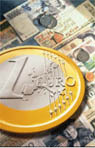 euro coin and notes image Central Audiovisual Library, European Commission