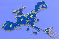 Eurozone map Central Audiovisual Library, European Commission