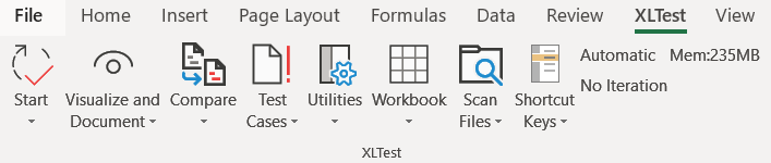 XLTest: Spreadsheet testing and auditing add-in